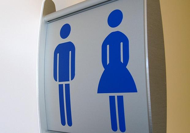 wc-borstel op toilet